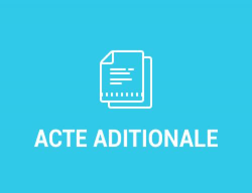 Acte aditionale